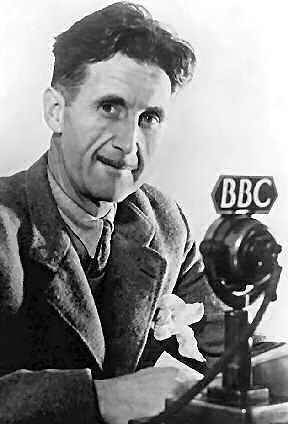 """El escritor británico George Orwell tenía una voz rara e """"inadecuada"""" para la radio"""