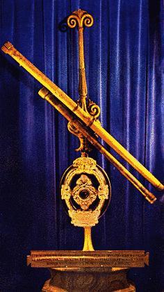 Réplica del telescopio de Galileo