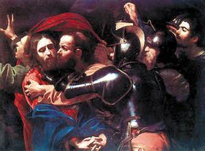 'Prendimiento de Cristo, o el Beso de Judas'  de Caravaggio