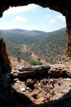 Vista de la zona de la excavación