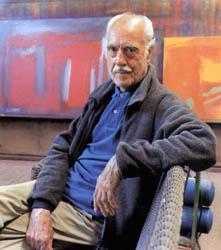 El pintor Esteban Vicente