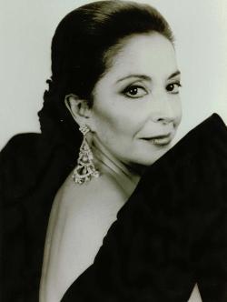La mezzosoprano madrileña Teresa Berganza