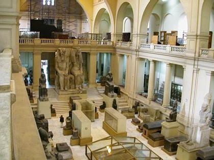 El Museo del Cairo exhibe los tesoros encontrados por los españoles