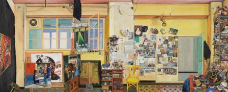 Estudio de Noche de Curro González en el Centro de Arte Contemporáneo de Málaga