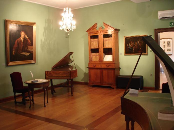 Interior de la Casa Museo de Handel