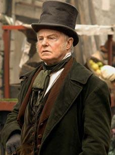 El veterano actor inglés Derek Jacobi premio Laurence Olivier