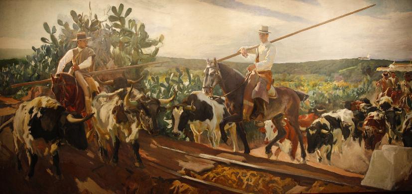 Andalucia. El encierro    1914 Joaquín Sorolla