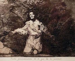 Grabado de Francisco de Goya