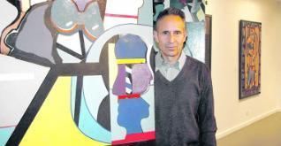 Juan Gomila en el Museo Barjola