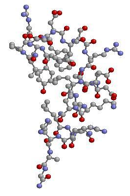 Proteina en 3D