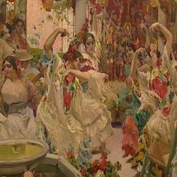 El baile. Sevilla   Obra de Sorolla