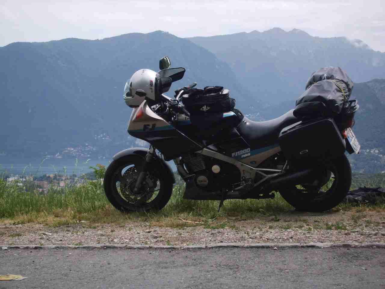 über Lugano - Luganer See