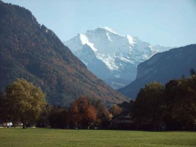 Die Jungfrau - aus der Sicht von Interlaken-Oktober 2006