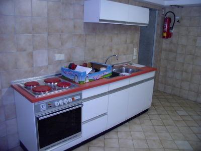 Küche Gewerbeetage