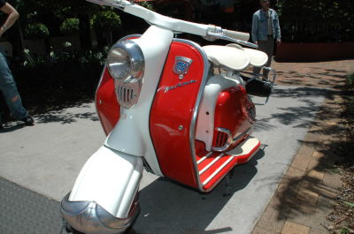 Silver Star Bikes - great scooter restoration photos (including a complete NSU Prima D restoration). Click on the events section of the website to see this ...