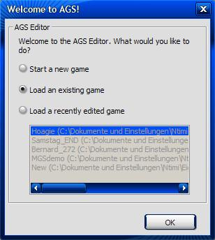 Load an existing game