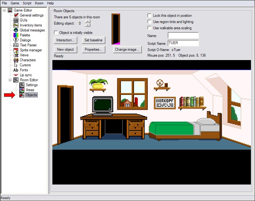 Objekt-Bildschirm