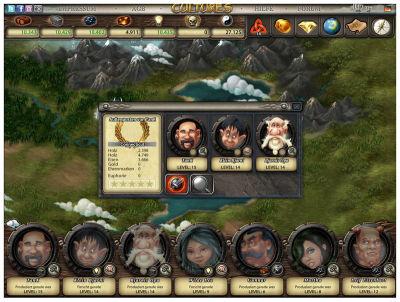 Cultures Online Screenshot