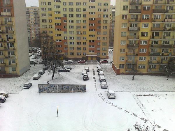 Zima 2016 Osiedle Chełmońskiego Łódź Górna Łódź GRK
