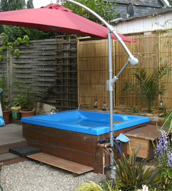 So habe ich den pool gebaut deanworks for Garten pool selbst gebaut