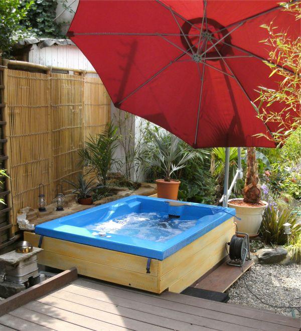 DIY Whirlpool Jacuzzi Hot Tub selbst gebaut :: DeanWorks