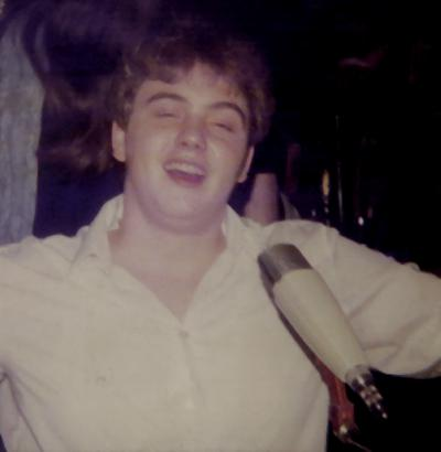 DJ Igor Romahn - Jahr: 1981 Ort: Discothek First