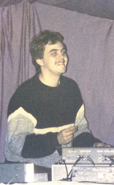 Dj Igor, jung & frisch im Festzelt, 1985