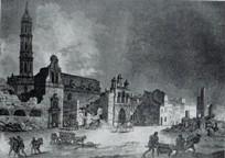 Ruinas del desaparecido convento de San Francisco