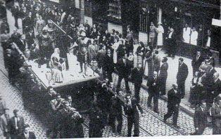 Procesión del santo entierro 1935