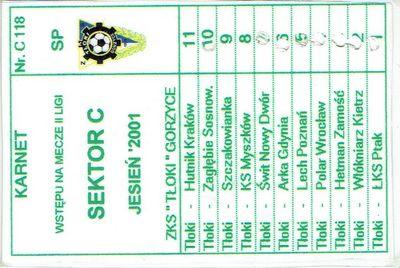 Kolekcja biletów Lecha Poznań
