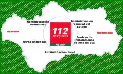 ANDALUCÍA - ESPAÑA, número de emergencias 112