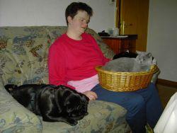 Tante Moni und Freund Chipsy