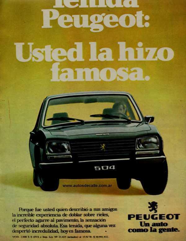 www.peugeot504argentina.es.tl - Publicidades