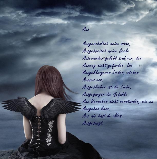 Meine Gedichtsammlung - Traurige Gedichte