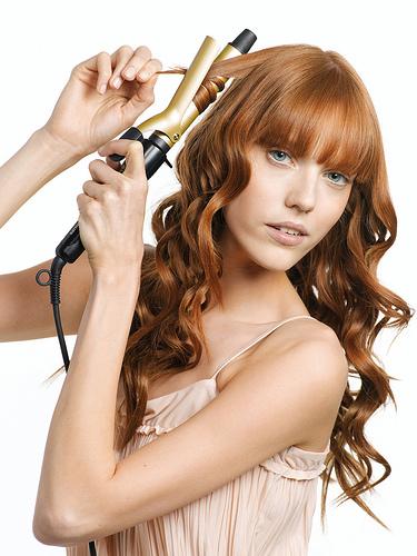 tenazas del pelo y rulos trmicos - Peinados Con Tenacillas