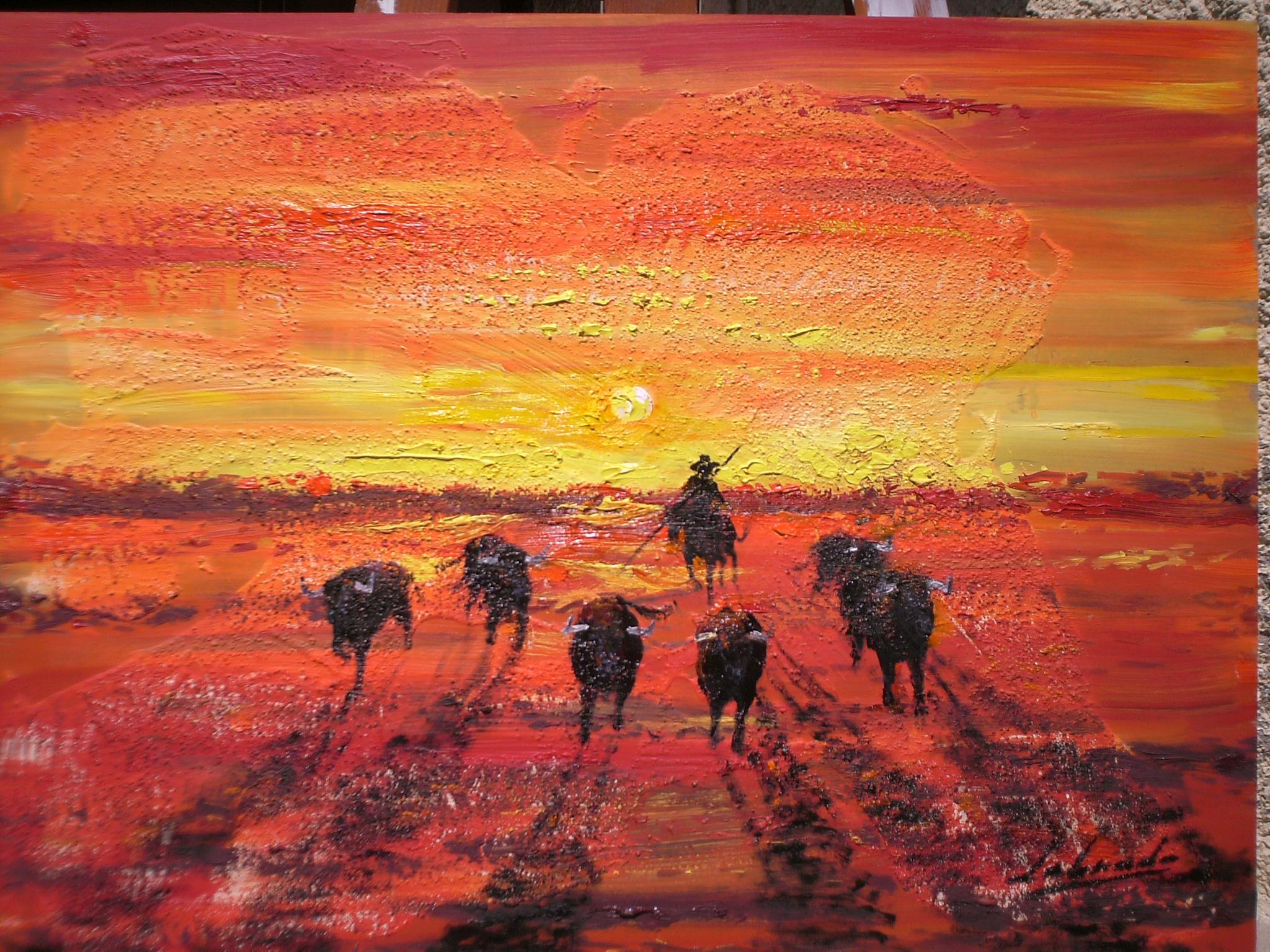 Pintura taurina - Galería de toros - photo#34