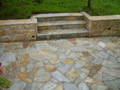 Pisos pisos piedra natural amarilla for Pisos de piedra para terrazas