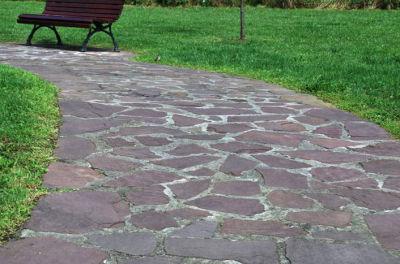 Pisos pisos piedra natural rosada for Materiales para pisos exteriores