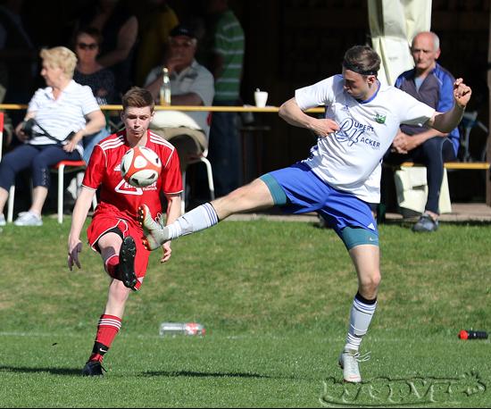 Spvgg Pittenhart Abt Fussball Derby Der Zweiten Gegen