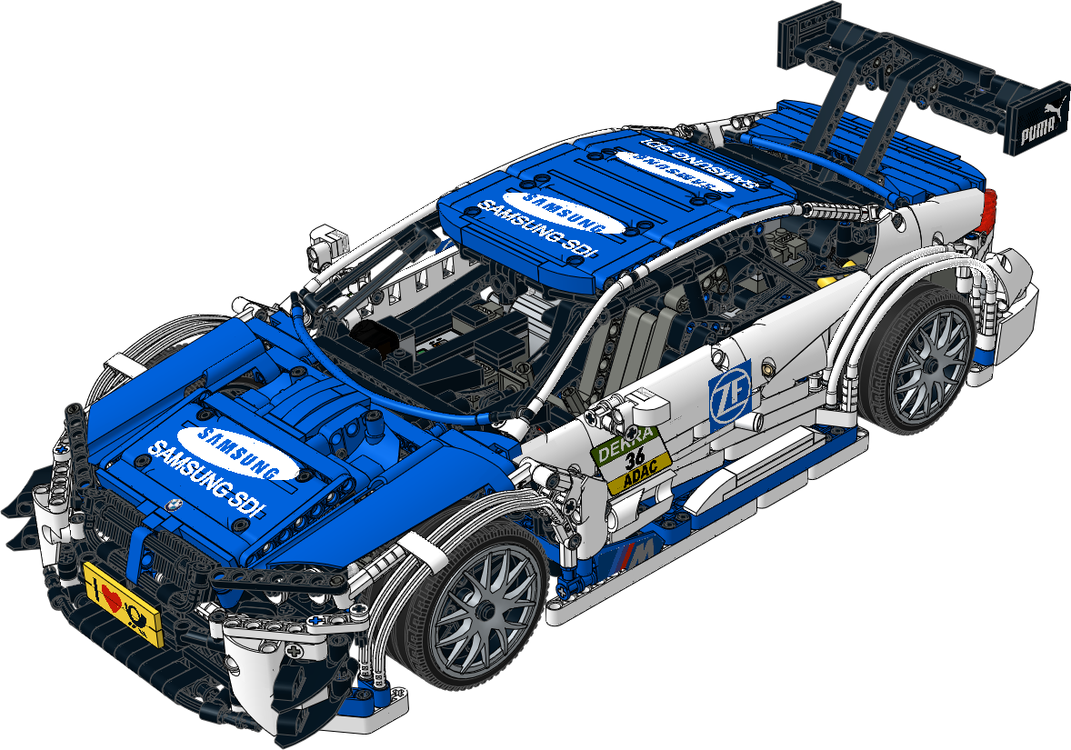 TECHNIC Instruction - BMW M4 DTM - Samsung