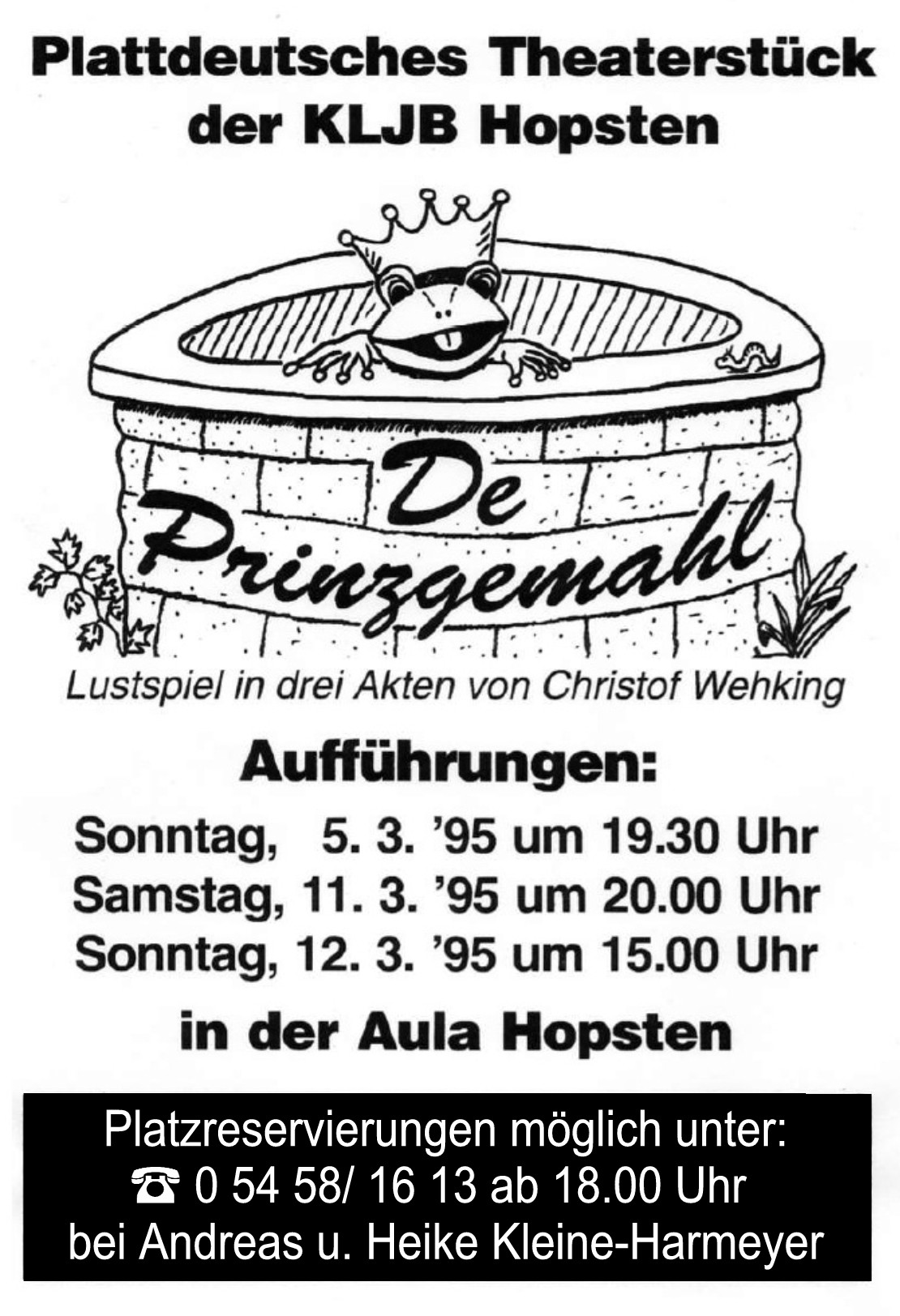 Theaterplakat 1995