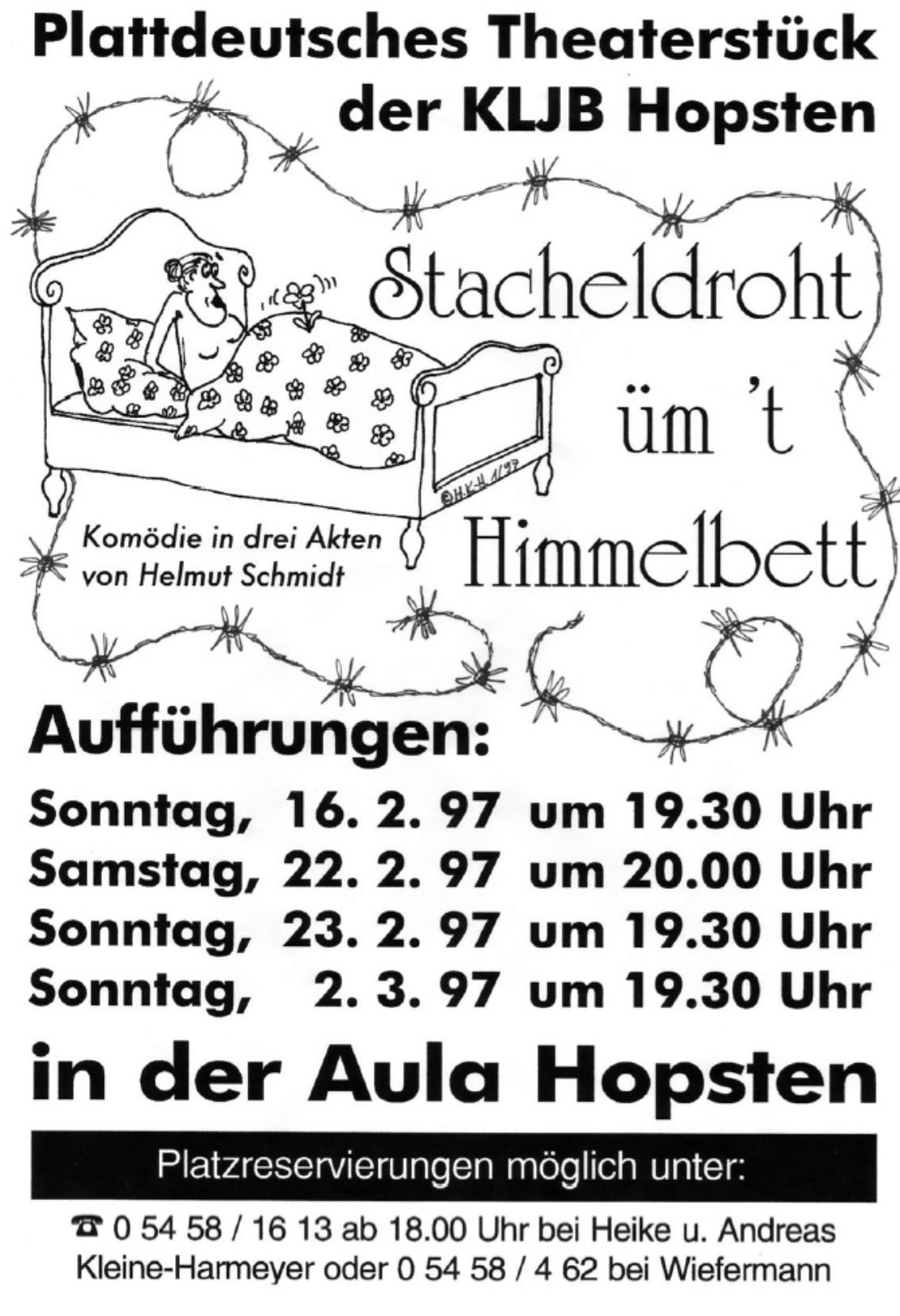 Theaterplakat 1997