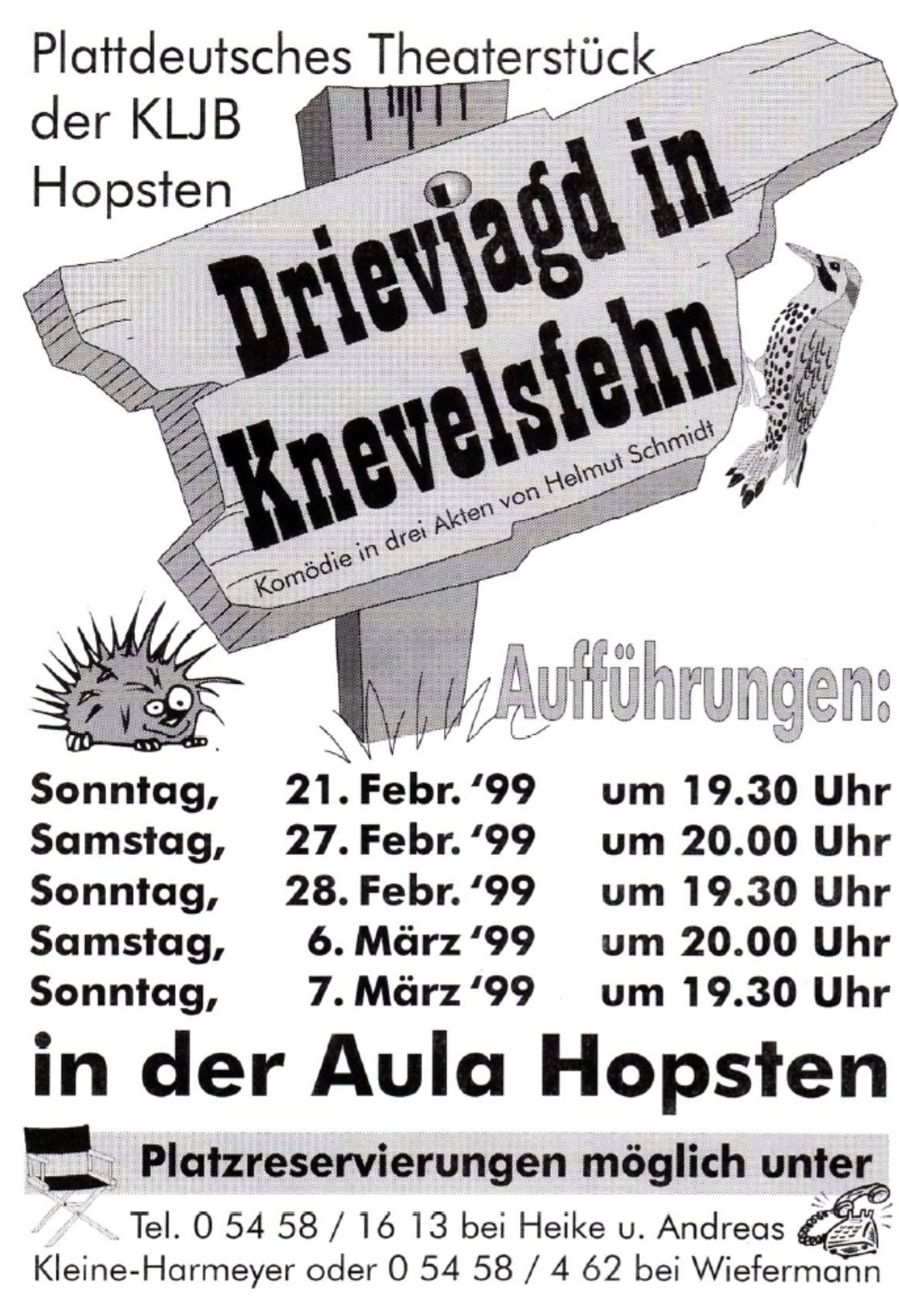 Theaterplakat 1999
