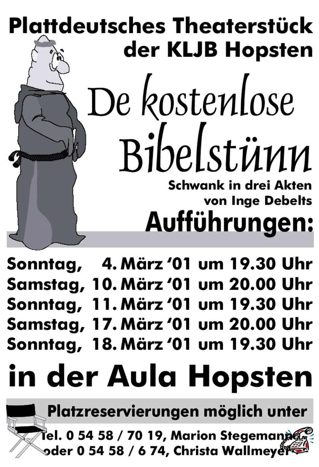 Theaterplakat 2001