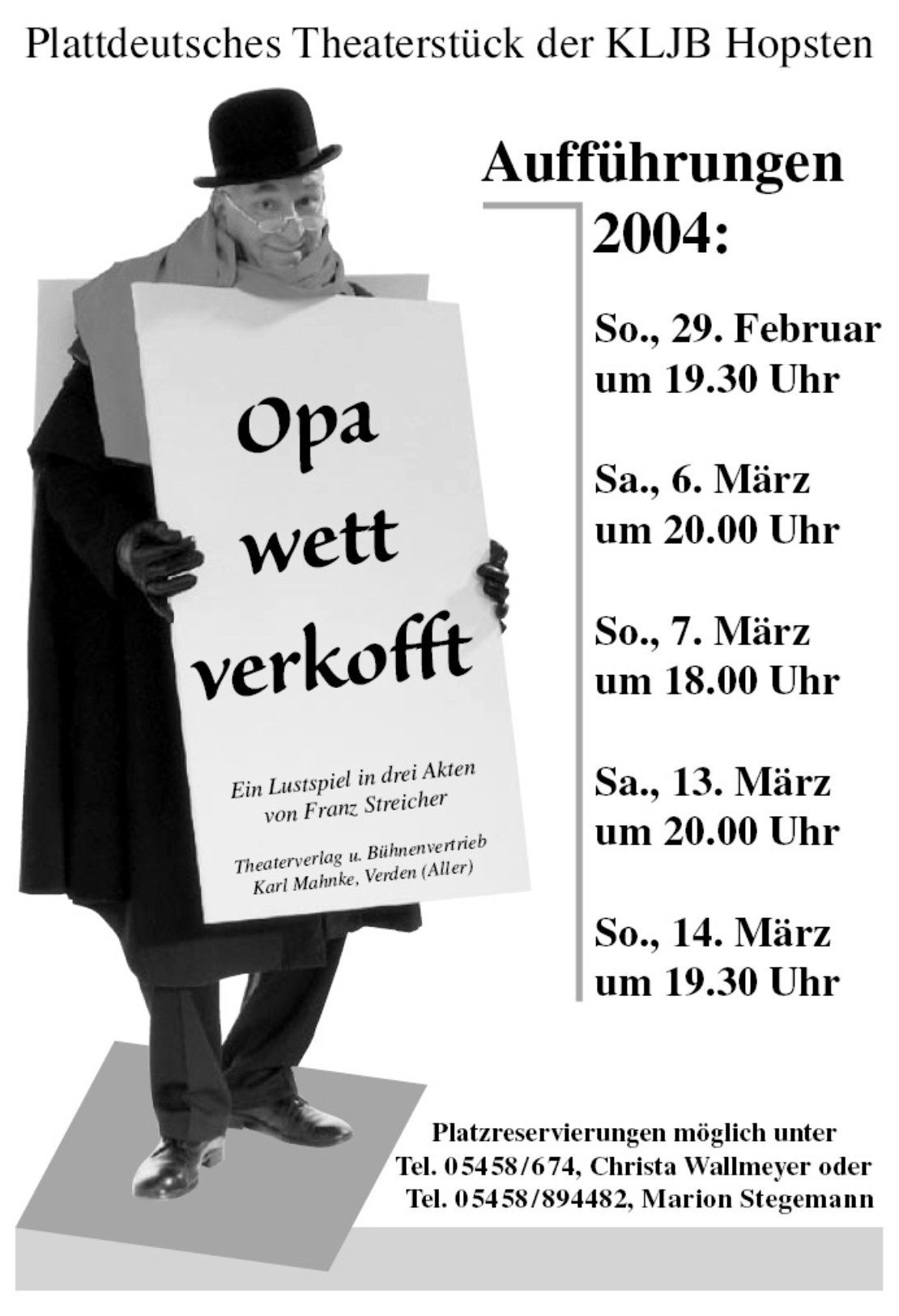 Theaterplakat 2004