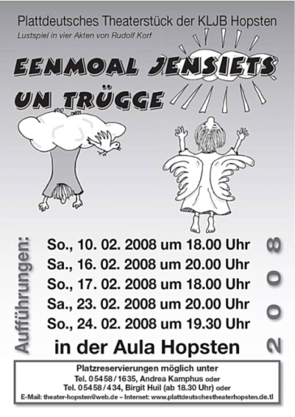 Theaterplakat 2008