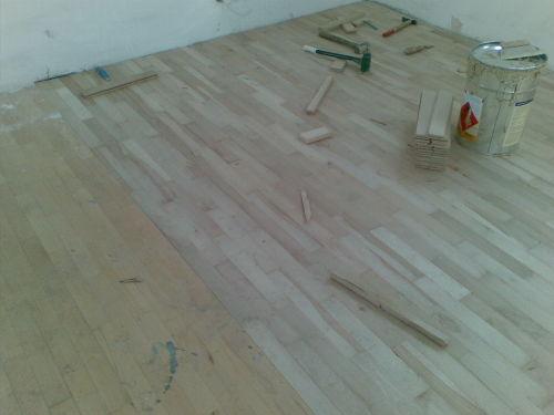montáž dřevěné podlahy