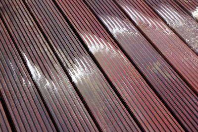 Čištění dřevěné terasy Roudnice