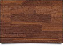 Ořech tmavý 6081 | 3-lamela | Imitace dřeva (PS)