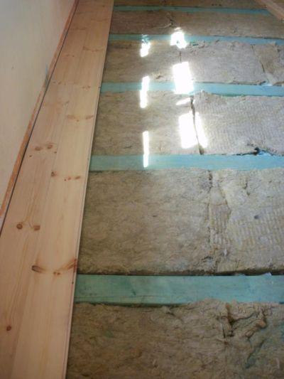 Izolace podlahy Roudnice n/L